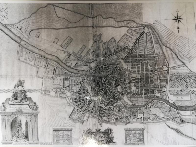 Friedrichstadt um 1700